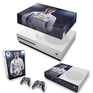 Capa Anti Poeira e Skin para Xbox One S Slim - Fifa 18