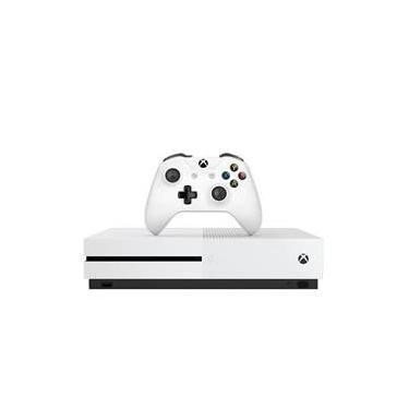 Console Microsoft Xbox One S 1TB HDR - Branco