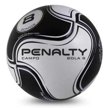 Bola Campo Penalty 8 S11 R2 VI - Preto/Branco