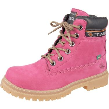 Bota Adventure Atron Shoes - Terra - Rosa  feminino