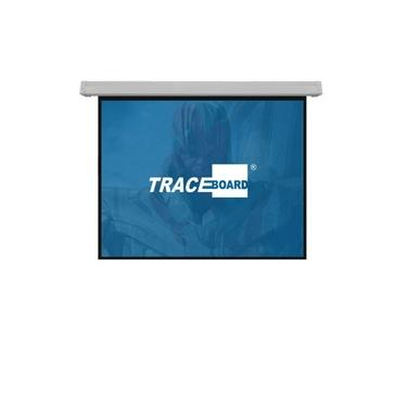 Tela de Projeção Retrátil Manual Tbms120v 2.44x1.83M
