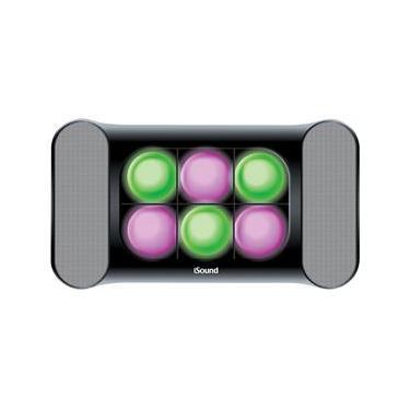 Caixa Acústica Iluminada iSound 5245 com Entrada Auxiliar – 6 W