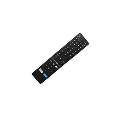 Controle remoto de substituição HCDZ com chaves Vudu YouTube Netflix para Magnavox 50MTV335WF7 50MTV335W/F7 50MV336X 50MV336X/F7 50MV336X/F7B 50MV376Y 50MV376Y/F7 50MV376Y/F76Y/F7B TV LED HDTV