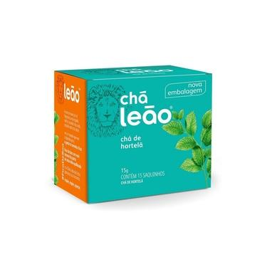 Chá Leão Hortelã em sachês - 15Ud