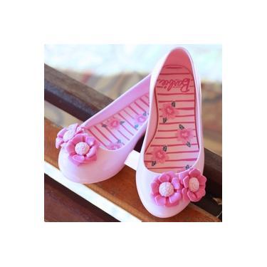 Sapatilha Barbie Grendene Rosa Claro/Rosa Infantil 22043-Spring
