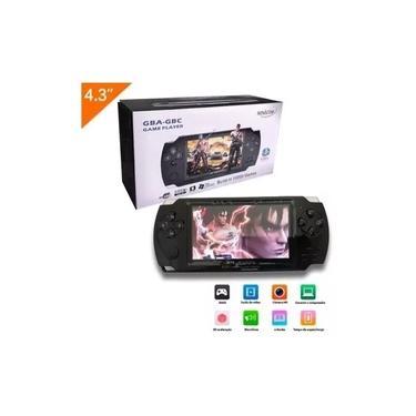 Vídeo Game Mini Portátil Retrô 10000 Jogos Super Gba Gbc Nes Nintendo Sega Mp3 Mp4 Mini Suporta 8GB Lcd 4.3