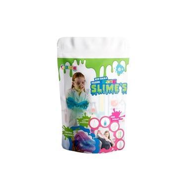 Imagem de Kit Para Fazer 2 Slimes E Acessórios Infantil Bang Toys