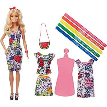 Barbie Crayola Pintando Seu Estilo, Mattel