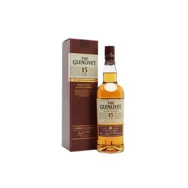 Whisky Glenlivet Single Malt 15 Anos 750ml