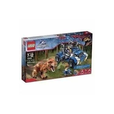 Lego Jurassic World T Rex Tracker 75918