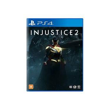 Game Injustice 2 - versão espanhol / inglês PS4