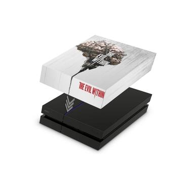 Capa Anti Poeira para PS4 Fat - The Evil Within