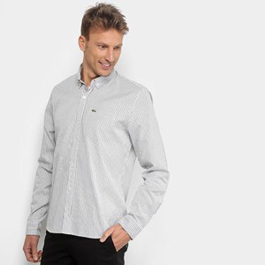 Camisa, Camiseta e Blusa Verde Manga Longa Masculino   Moda e ... e584f45656