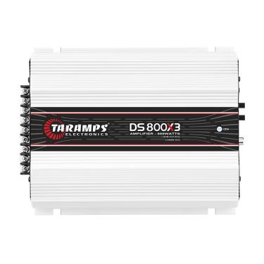 Módulo Taramps Ds 800x3 800w Amplificador Automotivo Módulo Taramps Ds 800x3 800w 2 Ohms Amplificador Automotivo