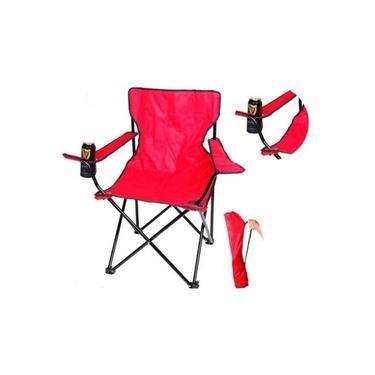 Cadeira Dobravel De Praia Camping Varanda Com Porta Copo E Bolsa De Transporte