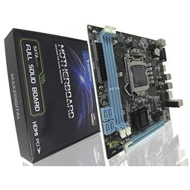 Placa Mãe Para Processadores Intel Lga 1155 - Freefire Pubg