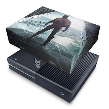 Capa Anti Poeira para Xbox One Fat - Capitão America