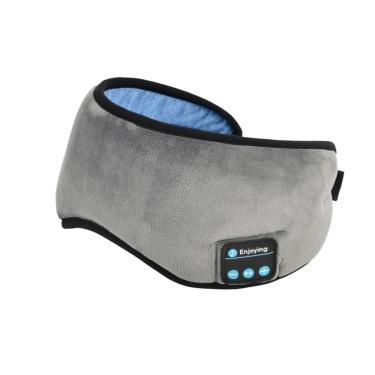 Máscara Para Dormir Tapa Olho Com Fone De Ouvido Bluetooth