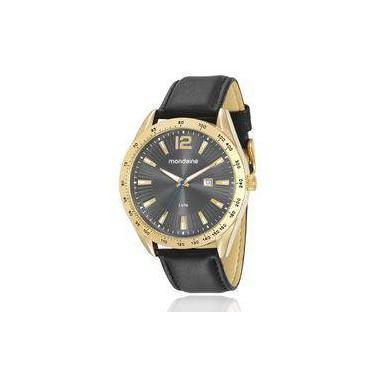 b9e7c07098b Relógio Masculino Mondaine Analógico 76692GPMVDH2 Dourado