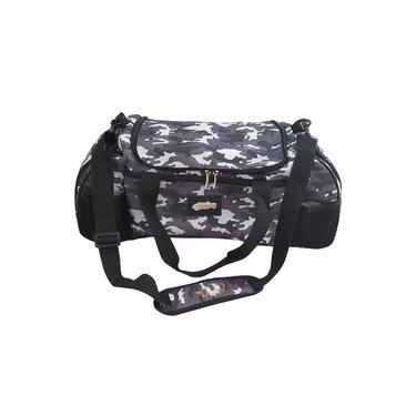 Bolsa Termica Bag Six Marmita Termica Gel Lancheira Fitness Camuflada Cinza