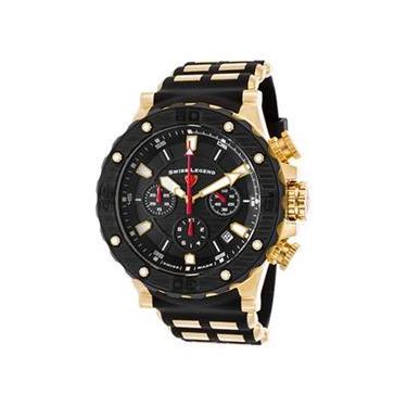 764312c9392 Relógio Masculino Swiss Legend Hunter - Modelo Sl-15253Sm-Yg-01-Bb