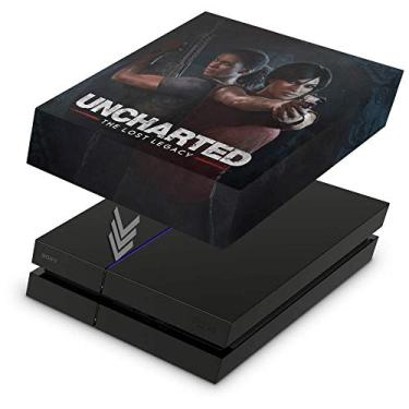 Capa Anti Poeira para PS4 Fat - Uncharted Lost Legacy