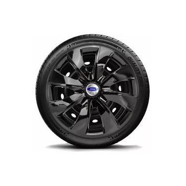 Calota Aro 14 Black Ford Ka Fiesta Focus Escort Ecosp