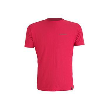 Camiseta Dry Cool Masculina com Proteção Solar 50 Vermelha Manga Curta - Conquista
