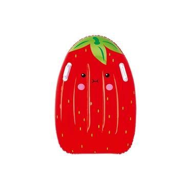 Prancha Inflável Frutinhas Sortidas Vermelho Mor