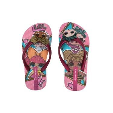 Chinelo Ipanema Kids Lol Surprise Rosa