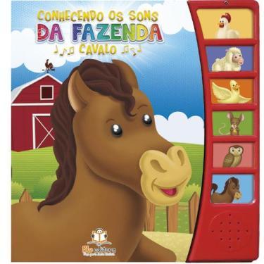 Imagem de Conhecendo Os Sons Da Fazenda - Cavalo - Blu Editora - Dwinguler
