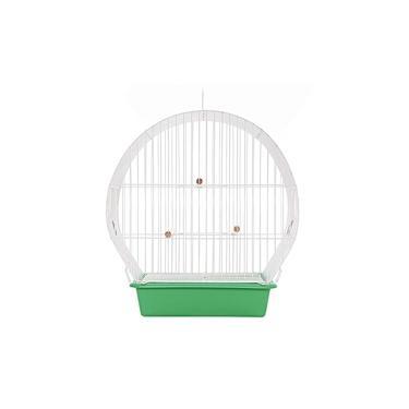 Gaiola para Pássaros Arco Top Verde Monaco