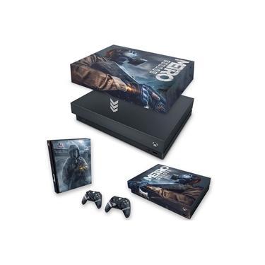 Capa Anti Poeira e Skin para Xbox One X - Metro Exodus
