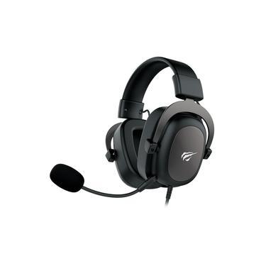 Imagem de Headset Gamer Havit H2002D Driver 53mm Preto P2 Com Microfone PC e Consoles PS4 / Xbox - HV-H2002D