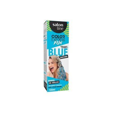 Imagem de Tonalizante Color Express Fun Blue Unicorn Salon Line 100ml