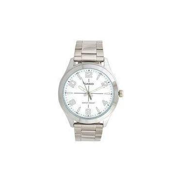 9f14b6ae967 Relógio Masculino Casio Analógico Mtpvx01d7budf Prata