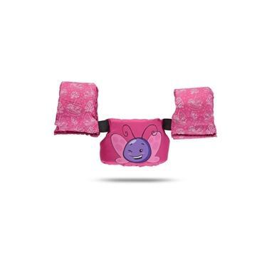 Boia Infantil Tipo Colete Borboletinha Rosa - Ativa Nautica