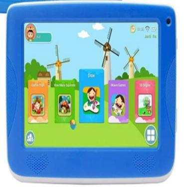 Imagem de KID Tablets Infantil Android 4.4; LCD 7 pol; CPU A33 Cortex A7; RAM 512 MB DDR3; 8 GB armazenamento,