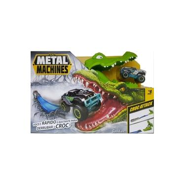 Imagem de Pista Metal Machines Croc Attack Crocodilo Candide 8704