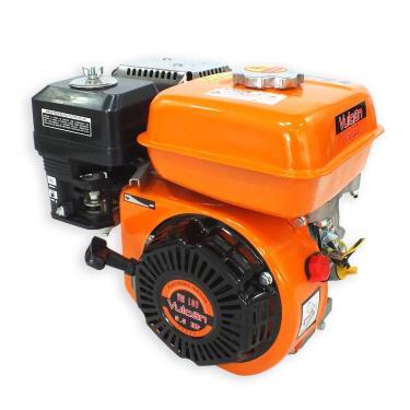 Motor Estacionário a Gasolina VM160 4 Tempos 5,5 HP Partida Manual Vulcan Trent Laranja