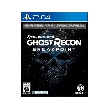 Jogo - Tom C. Ghost Recon Breakpoint Steelbook Ultimate Edition - Ps4