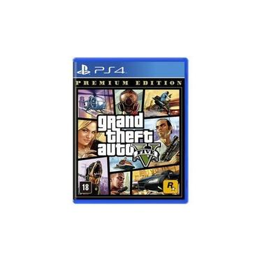 Game Grand Theft Auto V (GTA 5) Premium Edition - PS4