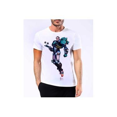 Camiseta Camisa Confortável Sigma Overwatch Ps4 Game Jogo Lançamento New Hero Hd 5