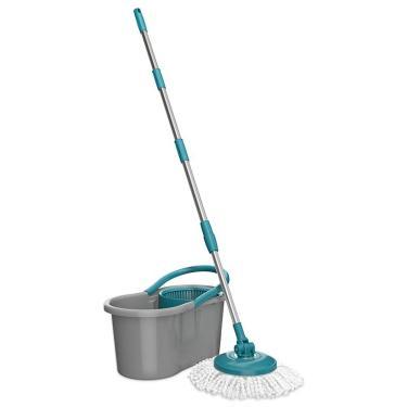 Balde Mop Esfregão Limpeza Giratório Fit Centrifuga - FlashLimp