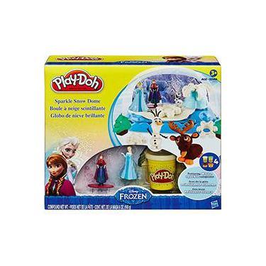 Imagem de Conjunto Play-Doh Frozen Globo de Neve - Hasbro