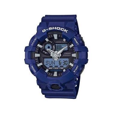 1debaa828bd Relógio Casio G-shock Ga-700-2adr Resistente A Choques