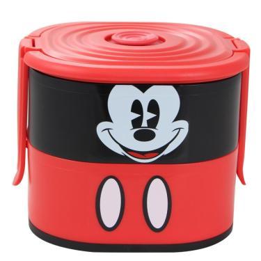 Lancheira Box Dupla Mickey Faces