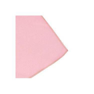 Imagem de Toalha De Mesa Cobre Mancha Quadrado Em Tecido Rosa Claro 0,75m