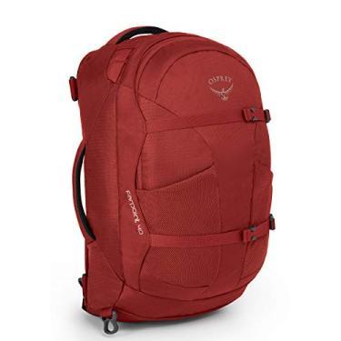 Mochila Osprey Farpoint 40 - Vermelho Jasper Red - M/G