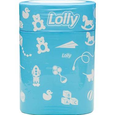 Porta Mamadeira Color (Para 2 Mamadeiras) Azul, Lolly, Azul